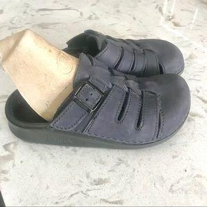 Birkenstock Tatami  BLue clogs shoes 37